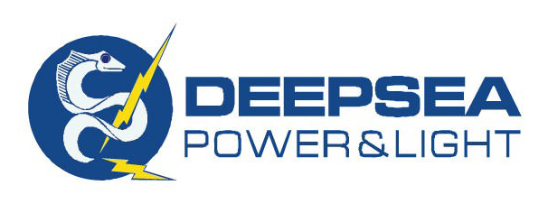 Deepsea Power&Light Logo